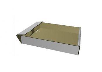 cardboard tray 3d