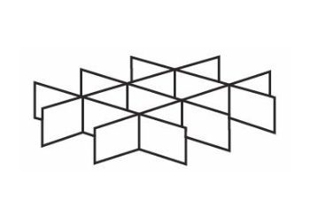 Line drawing fitment or divider