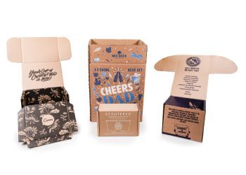 Bespoke cardboard packaging design